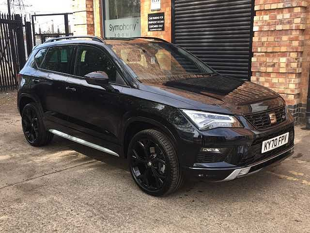 SEAT Ateca SUV 2.0TDI (150ps) FR Black Edition DSG